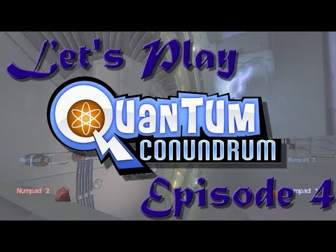 Let's Play Quantum Conundrum! Episode 4: Lasers and Fans! |