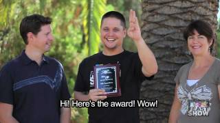 ASL Feast Show:  CAD Recognition Award