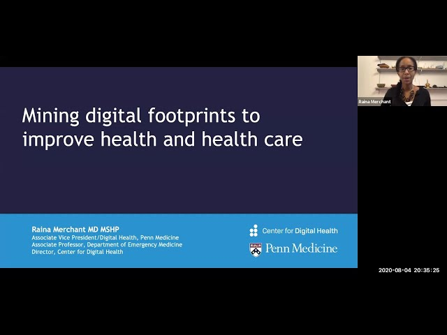 Mining Digital Footprints to Improve Health and Health Care