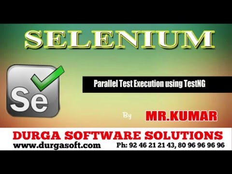 Selenium || Parallel Test Execution using TestNG