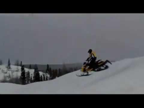 Ski Doo Mxz Xrs 2011 Catwalk Jumps Sidehill