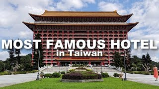 Staying at the MOST FAMOUS HOTEL in Taiwan! | Grand Hotel Tour & Review
