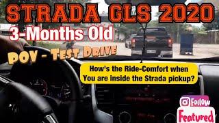 POV - Test Drive (3-Months Old Mitsubishi Strada GLS 2020)