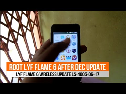 Old-How To Root Lyf Flame 6 After Wireless Update LS-4005-06-17  Just Try Again & Again