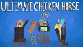 Ein knappes Finale in 🎮 Ultimate Chicken Horse #42