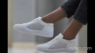 Модные кроссовки кеды женские
