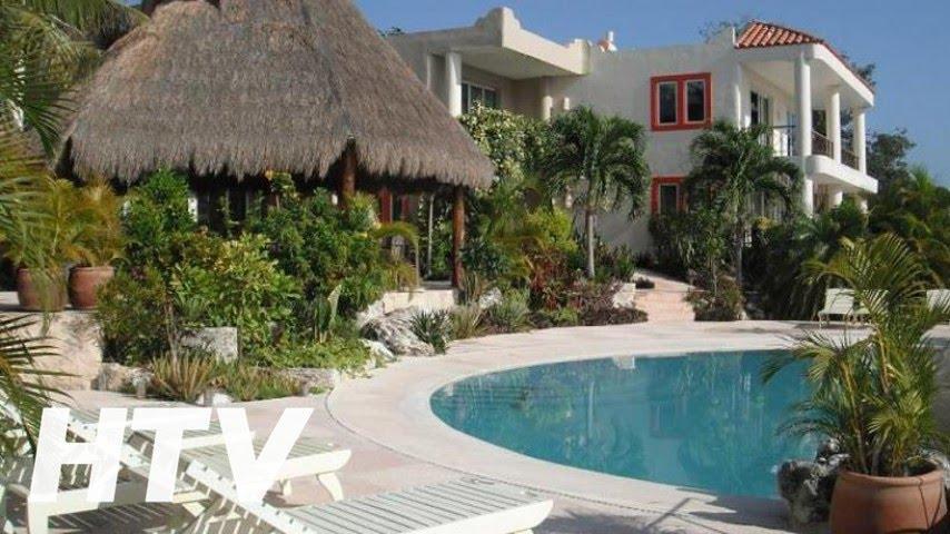 Villas bakalar hotel en bacalar youtube for Hotel luxury en bacalar