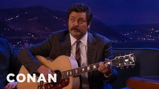 Repeat youtube video Nick Offerman Sings