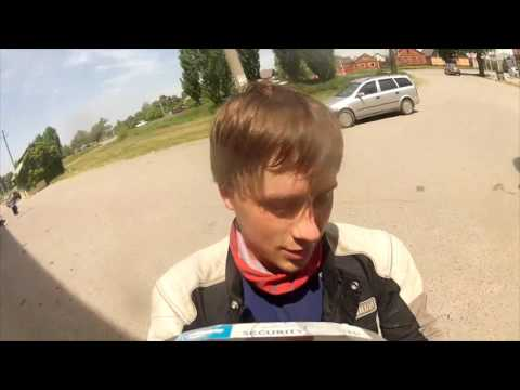 EP9 - Russia 1st entry I LOVE RUSSIA! Motorcycle adventure
