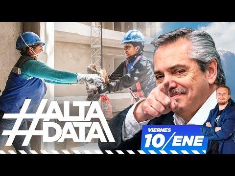 Todo lo que tenés que saber sobre el plan Argentina Hace   #AltaData, todo lo que pasa en un toque