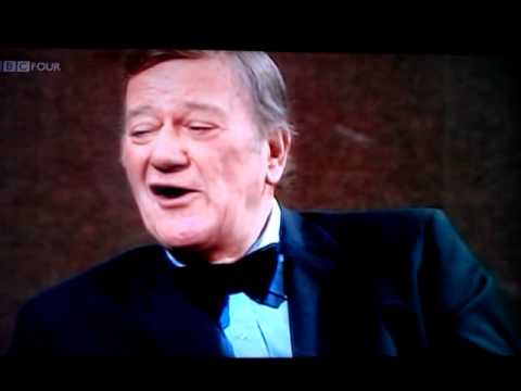 John wayne- rare interview 1974