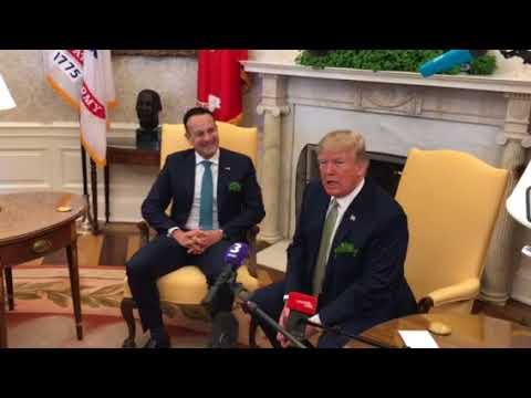 Leo Varadkar meeting Trump