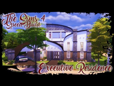 The Sims 4 - Executive Residence - Speed Build