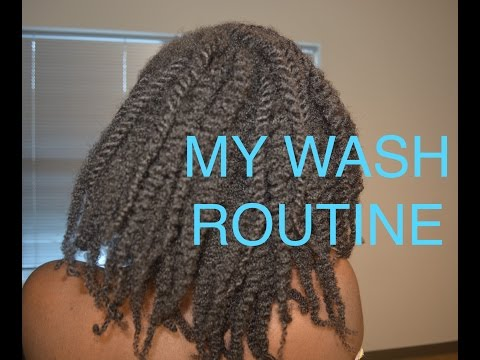 MY ENTIRE WASH ROUTINE FOR MY 4C HAIR