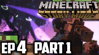 Minecraft Story Mode EPISODE 4 Part 1 | Minecraft Story Mode Episode 4 Walkthrough Gameplay