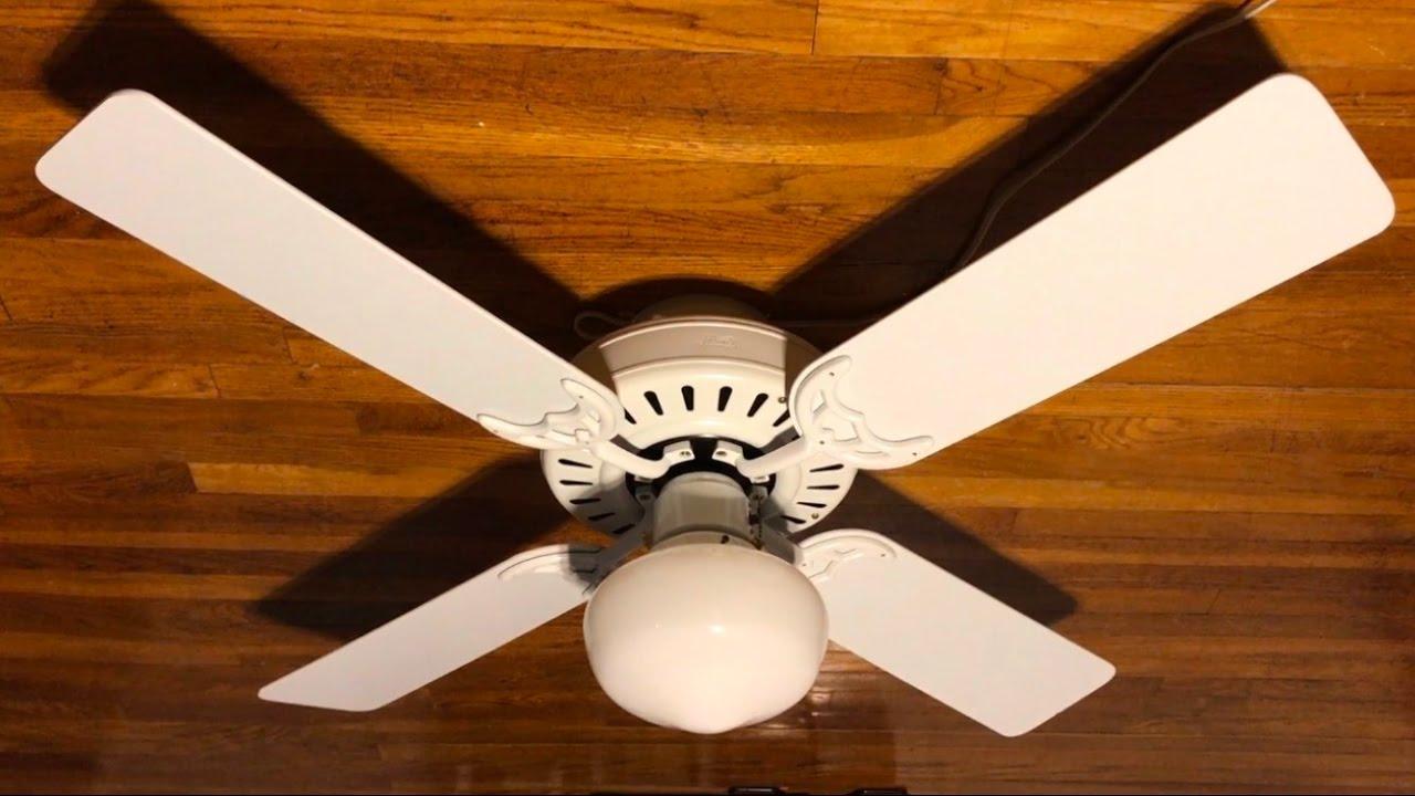 hunter schoolhouse ceiling fan taraba home review. Black Bedroom Furniture Sets. Home Design Ideas