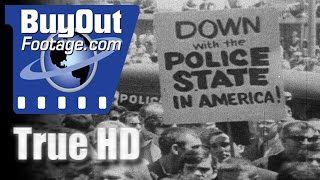 Operation Abolition - Story Of Communism In Action | HD Stock Footage