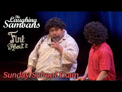 "The Laughing Samoans - ""Sunday School Exam"" from Fink About It"