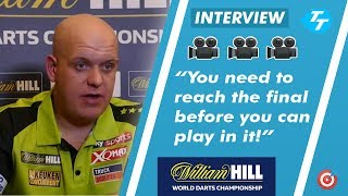 Michael van Gerwen RESPONDS to Gerwyn Price