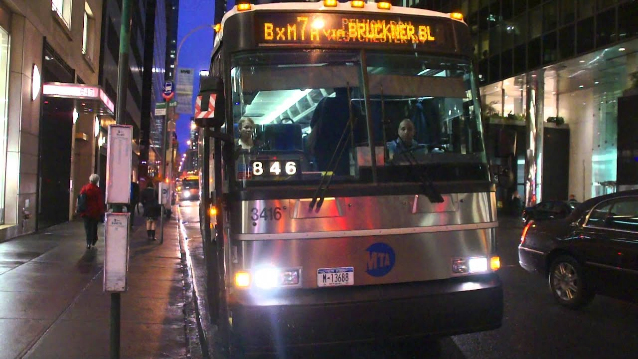 Mta Bus Mci On The A Bxm Jpg 1920x1080 Eastchester Road Foursquare Bxm10
