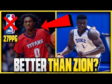 The ONLY Freshman More UNSTOPPABLE Than ZION WILLIAMSON In College And Why He WON'T Make The NBA!