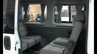 Микроавтобус Peugeot Boxer Tour Transformer 5 in 1 (салон-трансформер)