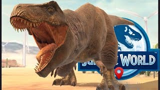 Тираннозавр 15 ур Ейниозух 15 Стегоцератопс 13 Jurassic World Alive2