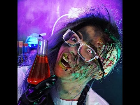 Mad Scientist Halloween Makeup Tutorial - YouTube