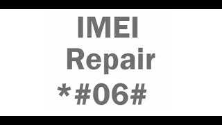 Repair/change IMEI in any Qualcomm Snapdragon phone **ROOTED**
