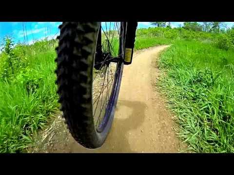 Mountain Biking - Town Run Trail Park, Indiana
