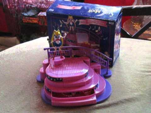 Sailor Moon North American Musical Jewelry Box Toy YouTube