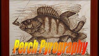 Pyrography 2 - Perch