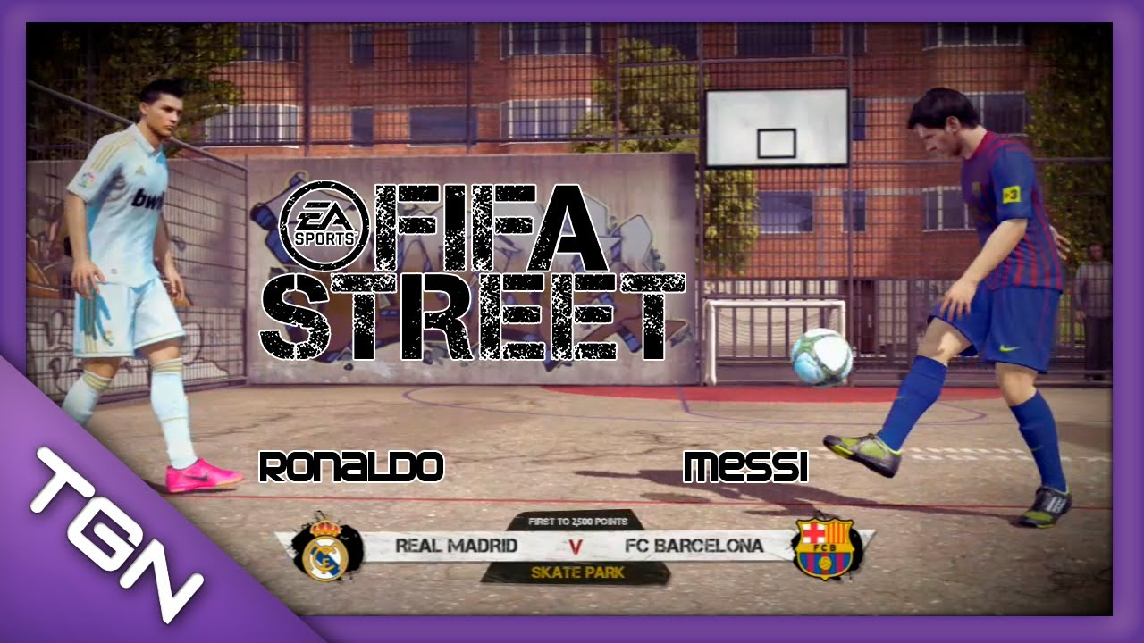 FIFA Street || CR7 Simply the Best - Cristiano Ronaldo vs Messi || PS3 ...