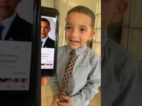My Grandson's Barack Obama Hairstyle thumbnail