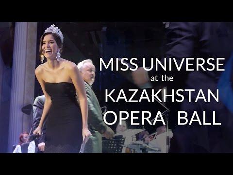 Miss Universe 2014 Paulina Vega in Kazakhstan