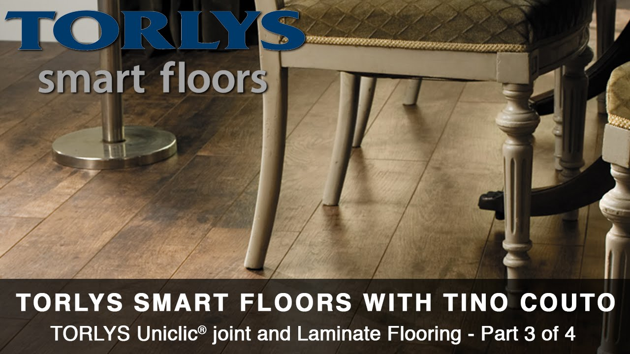 Ep. 8.3   TORLYS Uniclic® Joint And Laminate Flooring   Part 3 Of 4