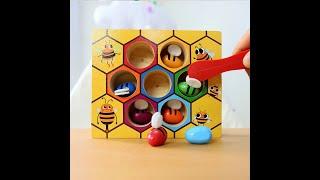 Пчелиный улей настольные игры развлечения раннего детского образования строительные блоки игрушки