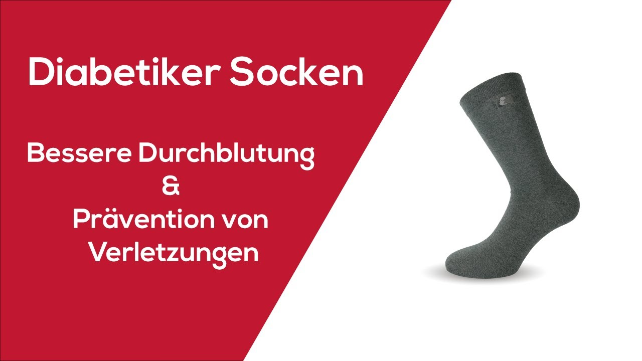 Socken hinterlassen abdrücke