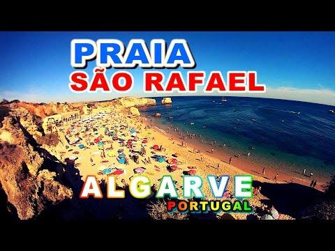Praia de São Rafael - Albufeira Algarve - Praias de Portugal Fantastic - KTM Laranjinha