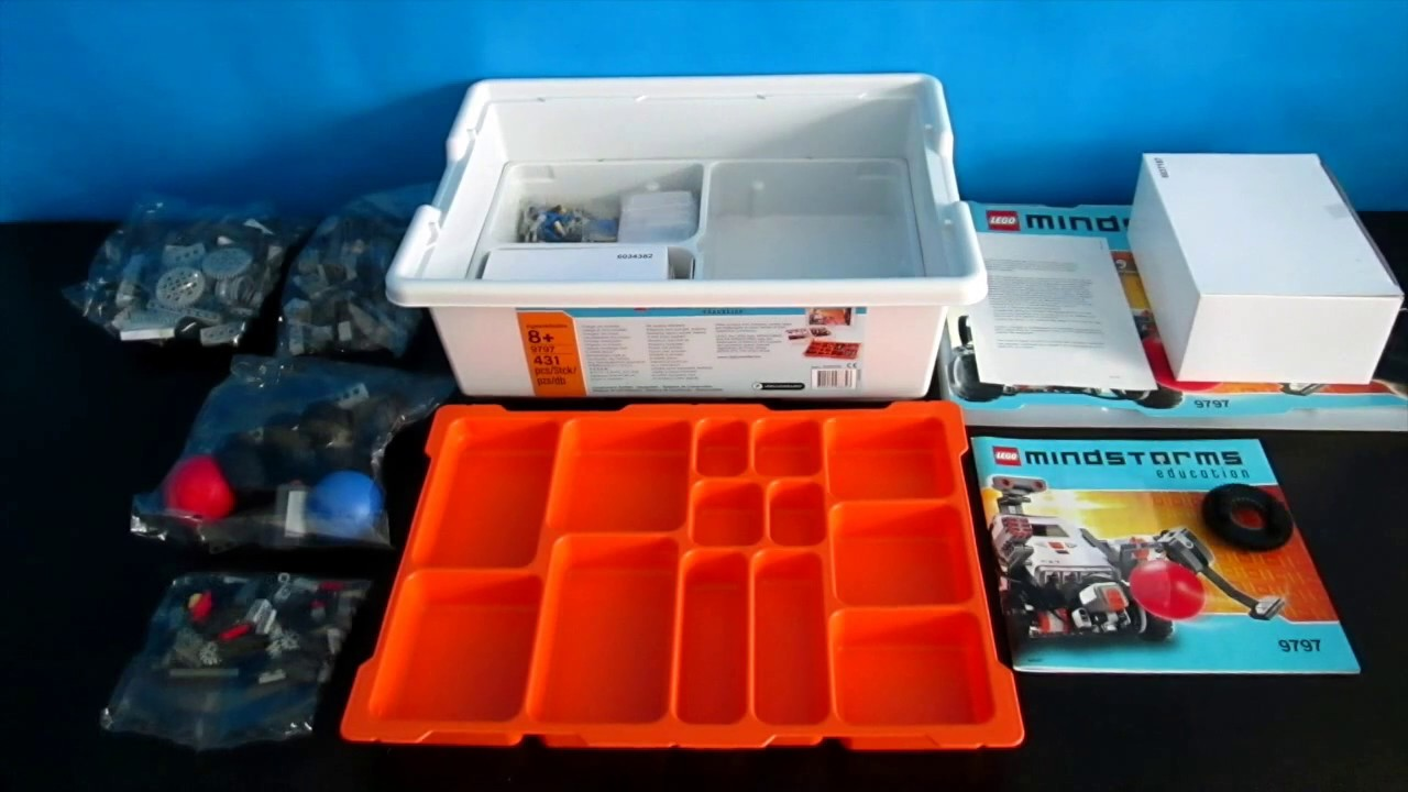 9797 NXT Base Set | Lego Mindstorms Education | WHAT'S IN THE BOX?
