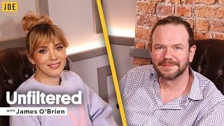 Paris Lees' candid and fearless interview with James O'Brien in JOE.co.uk's video podcast Unfiltered