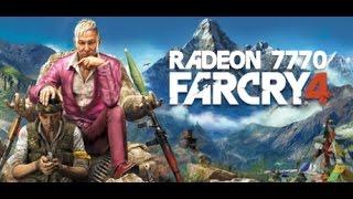 RADEON 7770: FAR CRY 4 (1080P YT 60FPS!)
