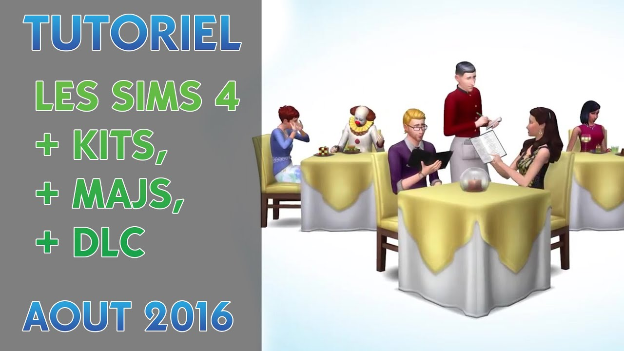 mise a jour sims 4 bambin crack