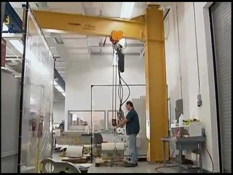 Gorbel Jib Cranes Youtube