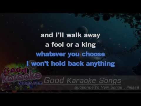 A Matter Of Trust - Billy Joel (LYRICS KARAOKE) [ goodkaraokesongs.com ]