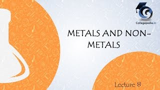 Metals and Non metals, Lecture 8, Class X Chemistry (Reactivity series of metals)
