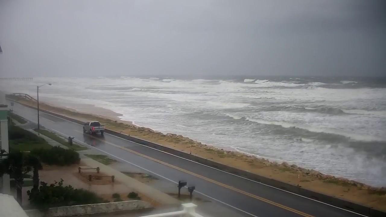 Flagler Beach Cam Stream Hurricane Irma