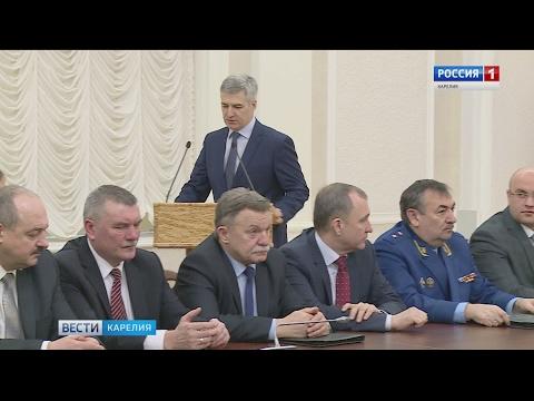 Врио главы Карелии Артур Парфенчиков вступил в должность
