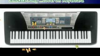 Nihada Mawathe Palu Niwahane song cover on yamaha PSR350 keyboard (Sri Lankan song)