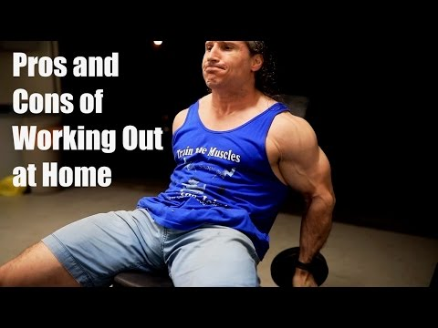 PROS and CONS of Working Out in a Home Gym